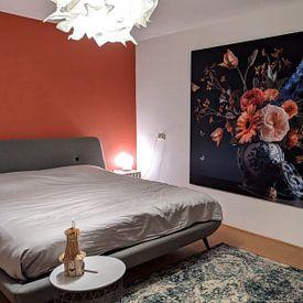 Kundenfoto: Königliche Schönheit Blume Stillleben von Sander Van Laar, als akustikbild