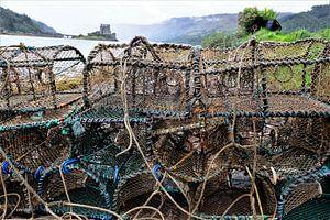 Schotland, viskorven en Eilean Donan Castle