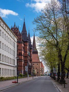 Ständehaus und Steintor in der Hansestadt Rostock von Rico Ködder