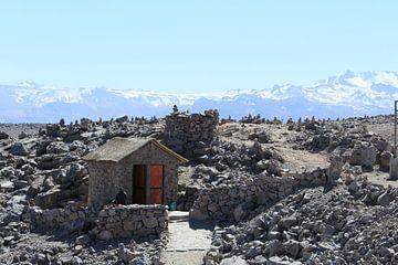 Hoogste punt Peru van Martin van den Berg Mandy Steehouwer