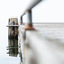 Meerpaal in Marken van Sense Photography
