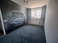 Kundenfoto: BMW M3 sportscar in Grau mit M-Logo von Atelier Liesjes, auf fototapete