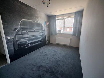 Klantfoto: BMW M3 sportscar in grijs met M logo van Atelier Liesjes