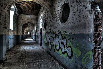 Gefängnis-Halle 1 von Kirsten Scholten