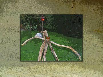 Kunst im Garten von Dirk H. Wendt