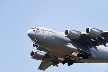 Boeing C-17 Globemaster III transportvliegtuig van Wim Stolwerk
