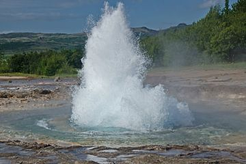 Explosief warm water. von Karin Tebes
