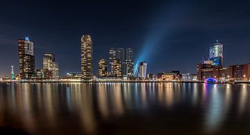 Rotterdam Skyline van Maikel Brands