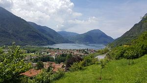 Italië. Porlezza van
