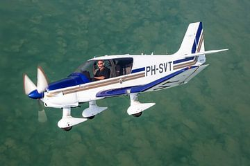Robin DR.400 boven Zeeland van Jimmy van Drunen
