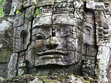 Bayon Tempel (Angkor Watt) Cambodja van Berg Photostore