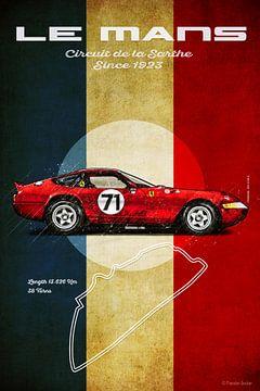 Le Mans F Vintage von Theodor Decker