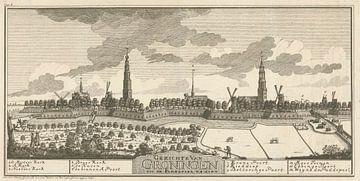 Panorama der Stadt Groningen (1743), Hendrik Hofsnider