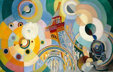 Luft, Eisen und Wasser, Robert Delaunay