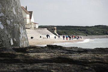 Entre les Caps, Nord Pas de Calais, Frankrijk van Henri Berlize