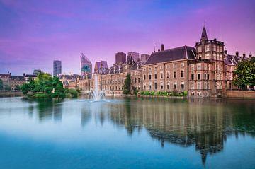 Den Haag - Hofvijver - Binnenhof van Ricardo Bouman
