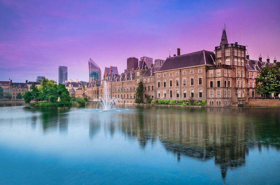 Den Haag - Hofvijver - Binnenhof