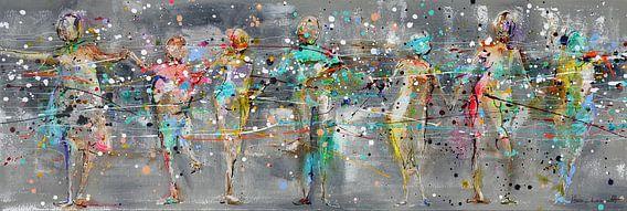 Sparkling People van Atelier Paint-Ing