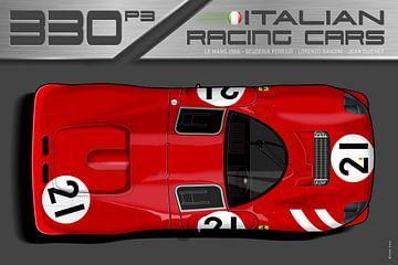 Ferrari 330 Nr.21 van Theodor Decker