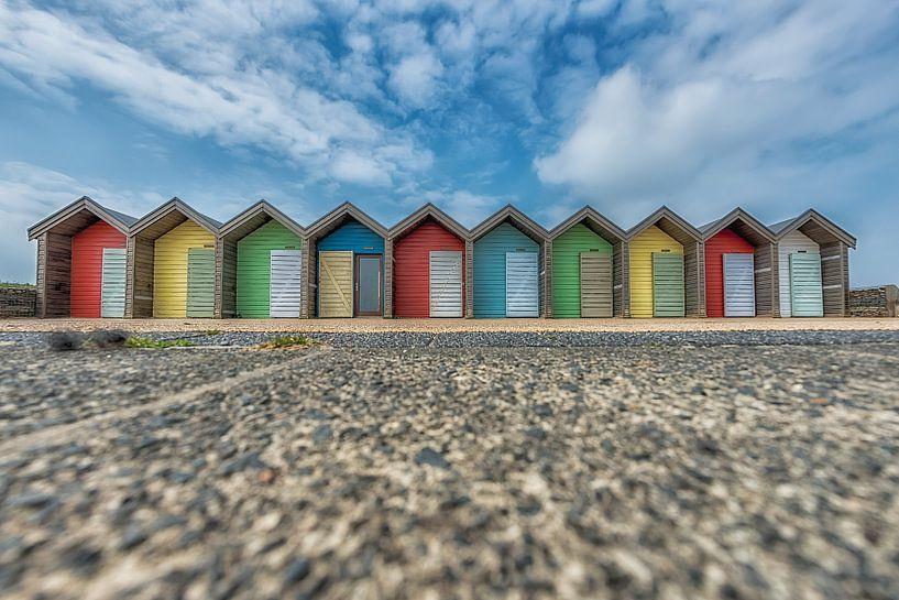 Strandhuisjes van Adriaan Westra