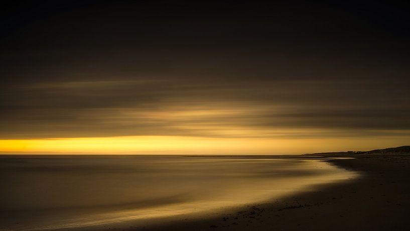 Een mooie zonsondergang van Klaas Fidom