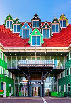 Geemeentehuis Zaandam, Nederland van Adelheid Smitt