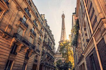 Paysage parisien sur Manjik Pictures