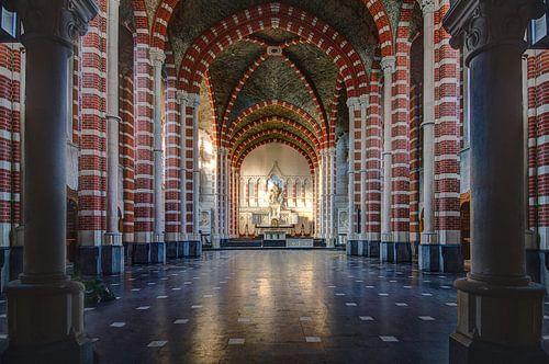 Kleurrijke kerk