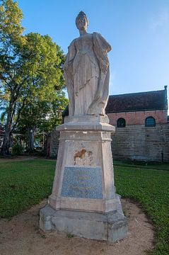 Standbeeld van Koningin Wilhelmina van Maarten Verhees