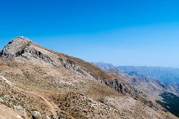 Iran: Landschap (Uraman Takht) van Maarten Verhees