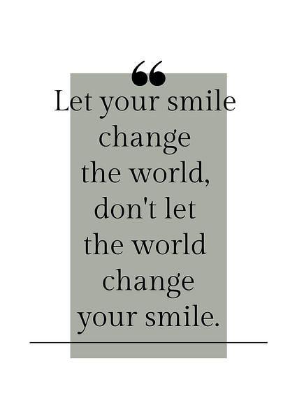 """Affiche """"Laissez votre sourire"""" dans toutes les couleurs possibles ! sur by Tessa"""