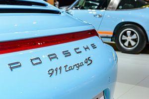 Porsche 911 Targa 4S Sportwagen Detail und Klassiker der 1970er Jahre Porsche 911 Targa