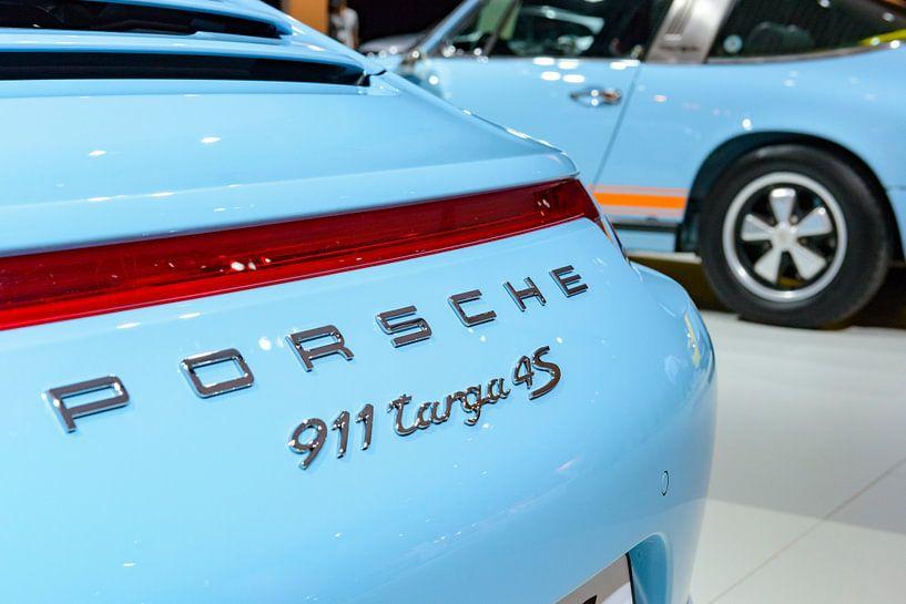Porsche 911 Targa 4S Sportwagen Detail und Klassiker der 1970er Jahre Porsche 911 Targa von Sjoerd van der Wal