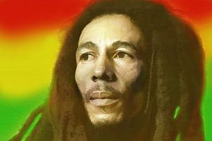 Bob Marley, König des Reggae.