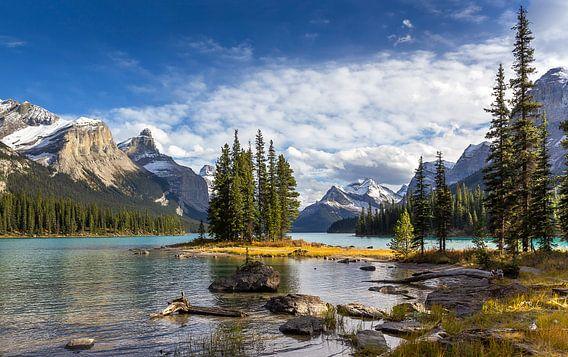 Spirit Island, Maligne Lake, Canada