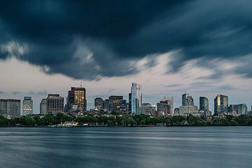 Reisfotografie - Boston skyline - long exposure - architectuur van Eleana Tollenaar