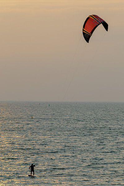 Le surfeur sur Anjo ten Kate