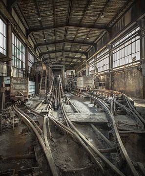 Wäscherei im Kohlebergwerk von Olivier Van Cauwelaert