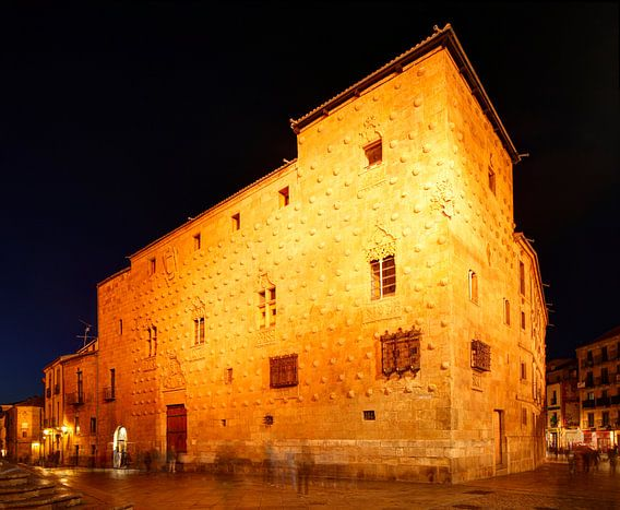 Muschelhaus Casa de Las Conchas  , Salamanca, Castilla y Leon, Kastilien-Leon, Spanien, Europa