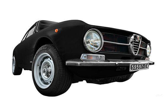 Alfa Romeo GT 1300 Junior in zwart