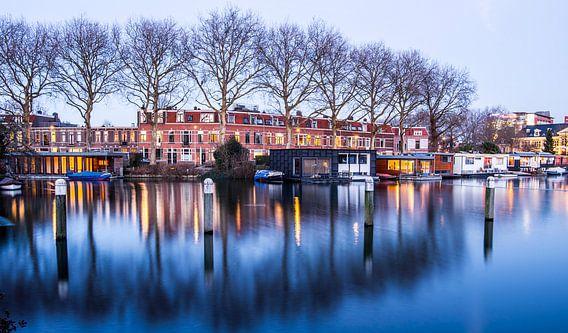 Het water bij de Munt in Utrecht