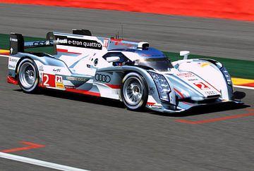 Audi E-Tron Quattro Spa Francorchamps van MSP Canvas