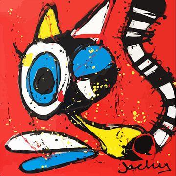 Psychcat van Jacky Zegers