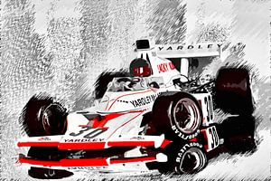 Yardley McLaren M23 driven by Jacky Ickx