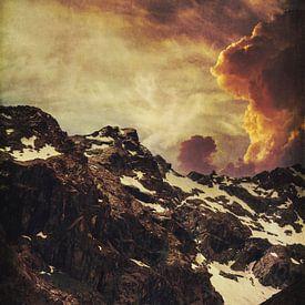 Een avond in de bergen van Dirk Wüstenhagen