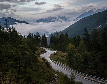 In de bergen sur Wim Slootweg