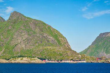 Küste auf den Lofoten in Norwegen von Rico Ködder