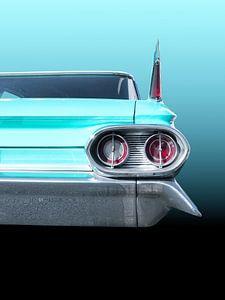 Voiture américaine classique 1961 Sedan Deville