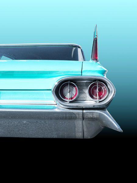 Voiture américaine classique 1961 Sedan Deville sur Beate Gube