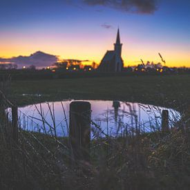 Kerkje van Texel van Fotografiecor .nl